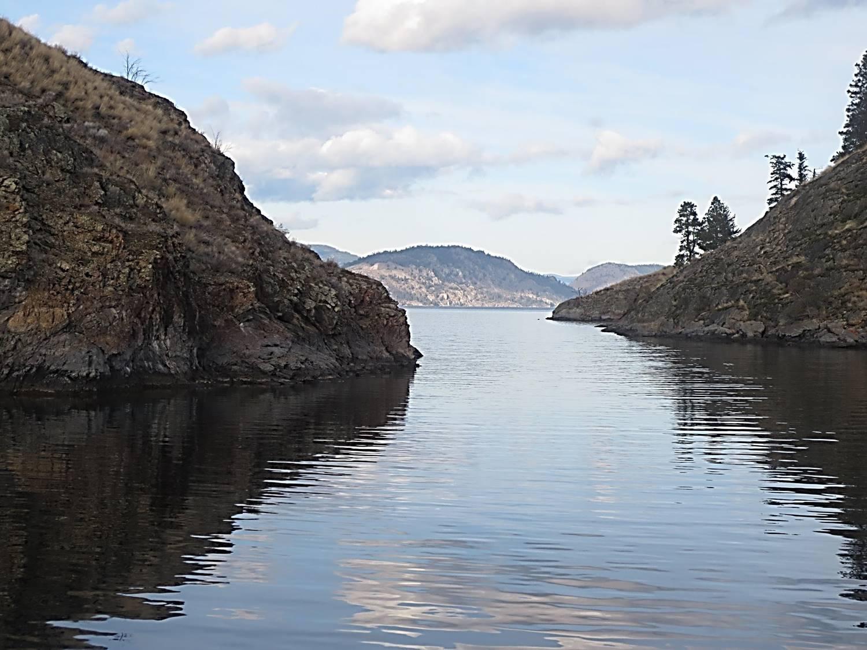 Photo Rattlesnake Island at Summerland BC