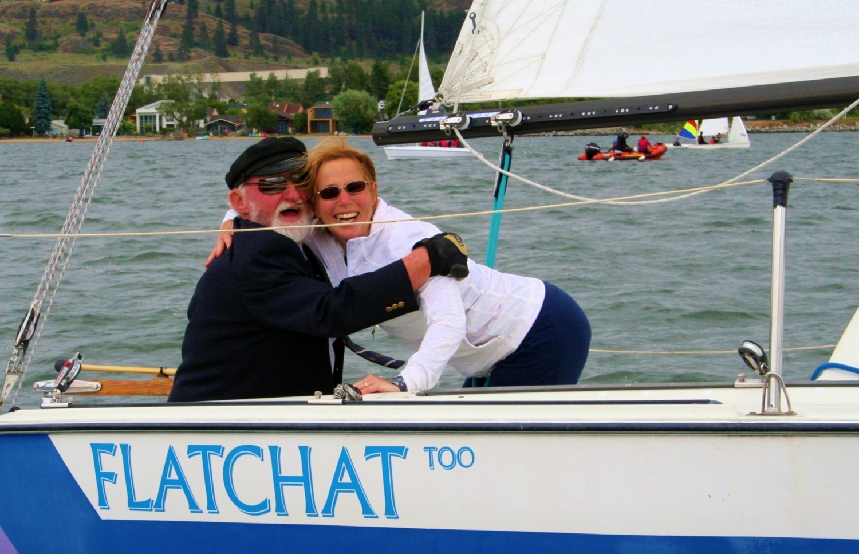 John Sharples and Gillian Hayward on Flatchat